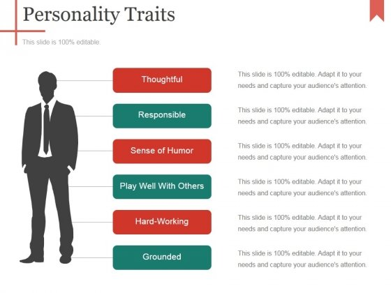 Personality Traits Ppt PowerPoint Presentation Layouts Structure
