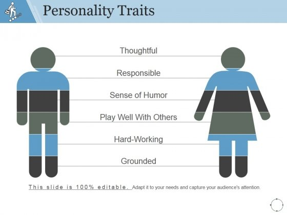 Personality Traits Ppt PowerPoint Presentation Outline