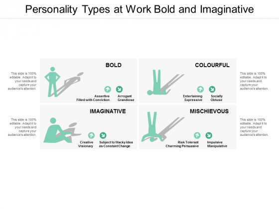 personality types at work bold and imaginative ppt powerpoint presentation inspiration introduction