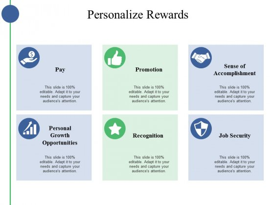 Personalize Rewards Ppt PowerPoint Presentation Portfolio Example