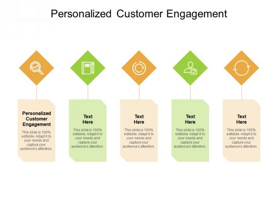 Personalized Customer Engagement Ppt PowerPoint Presentation Ideas Graphic Tips Cpb Pdf