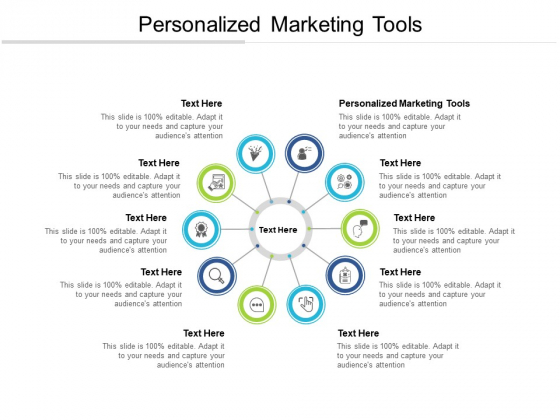 Personalized Marketing Tools Ppt PowerPoint Presentation Pictures Diagrams Cpb