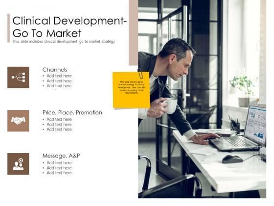 Pharmaceutical Marketing Strategies Clinical Development Go To Market Designs PDF