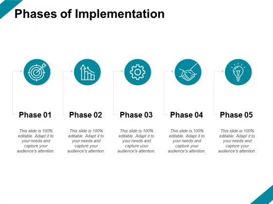 Phases Of Implementation Ppt PowerPoint Presentation File Demonstration