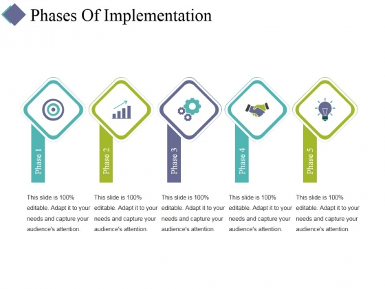 Phases Of Implementation Ppt PowerPoint Presentation Layouts Examples