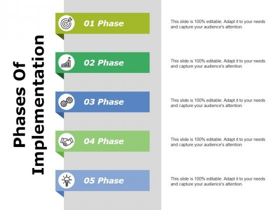 Phases Of Implementation Ppt PowerPoint Presentation Summary Information