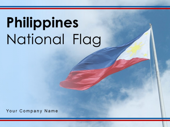 Philippines National Flag Hand Painted Hexagonal Representation Ppt PowerPoint Presentation Complete Deck