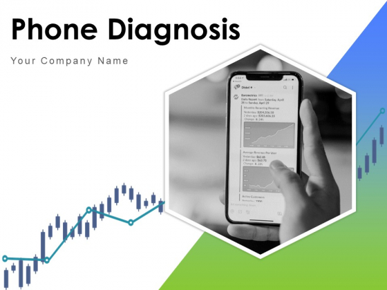 Phone Diagnosis Mobile Analytics Data Collection Magnify Glass Ppt PowerPoint Presentation Complete Deck