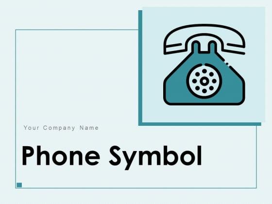 Phone_Symbol_Customer_Support_Landline_Telephone_Icon_Ppt_PowerPoint_Presentation_Complete_Deck_Slide_1