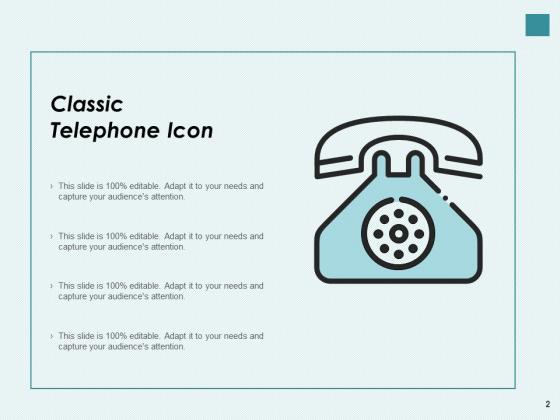 Phone_Symbol_Customer_Support_Landline_Telephone_Icon_Ppt_PowerPoint_Presentation_Complete_Deck_Slide_2