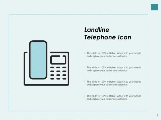 Phone_Symbol_Customer_Support_Landline_Telephone_Icon_Ppt_PowerPoint_Presentation_Complete_Deck_Slide_5