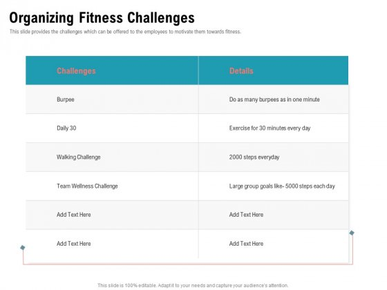 Physical Trainer Organizing Fitness Challenges Demonstration PDF