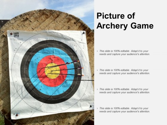 Picture Of Archery Game Ppt PowerPoint Presentation Gallery Example File