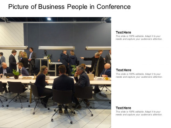 Picture Of Business People In Conference Ppt PowerPoint Presentation Icon Template