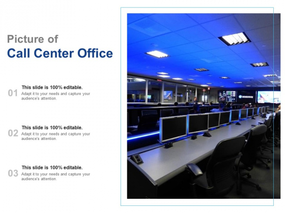 Picture Of Call Center Office Ppt PowerPoint Presentation Infographic Template Portrait