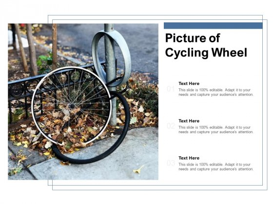 Picture Of Cycling Wheel Ppt PowerPoint Presentation Outline Introduction