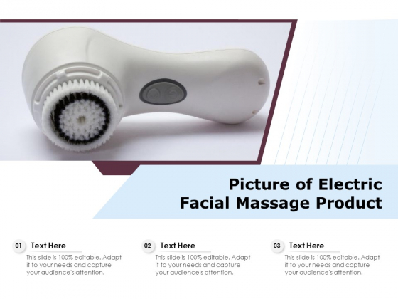 Picture_Of_Electric_Facial_Massage_Product_Ppt_PowerPoint_Presentation_Gallery_Mockup_PDF_Slide_1