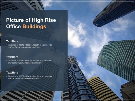 Picture Of High Rise Office Buildings Ppt Powerpoint Presentation Icon Themes