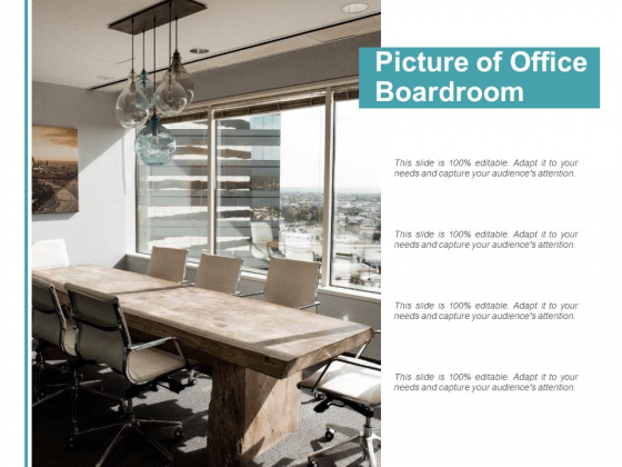 Picture Of Office Boardroom Ppt Powerpoint Presentation Slides Layouts Powerpoint Templates