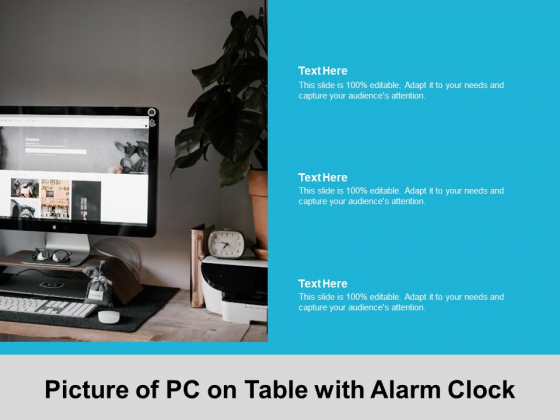 Picture_Of_PC_On_Table_With_Alarm_Clock_Ppt_PowerPoint_Presentation_Portfolio_Samples_Slide_1