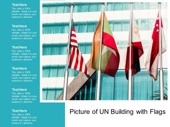 Picture Of Un Building With Flags Ppt PowerPoint Presentation Professional Good
