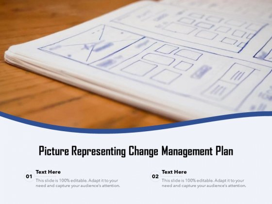 Picture Representing Change Management Plan Ppt PowerPoint Presentation Portfolio Rules PDF