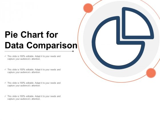 Pie Chart For Data Comparison Ppt PowerPoint Presentation Portfolio Layouts