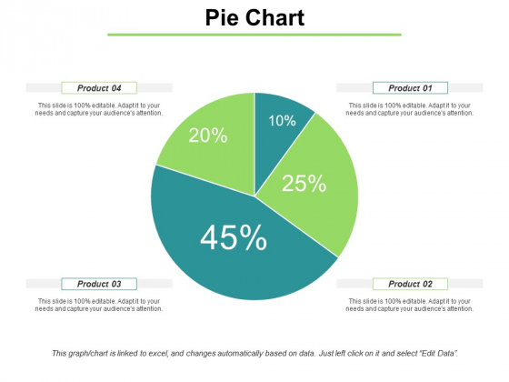 Pie Chart With Distrubation Ppt PowerPoint Presentation Model Ideas