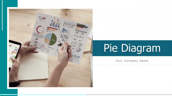 Pie Diagram Illustrating Business Ppt PowerPoint Presentation Complete Deck With Slides