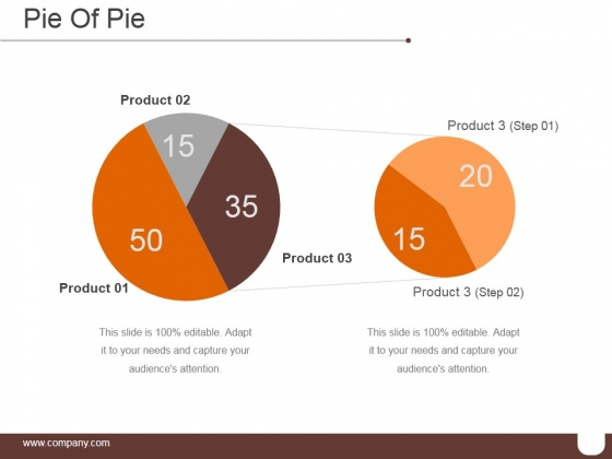 Pie Of Pie Ppt PowerPoint Presentation Information