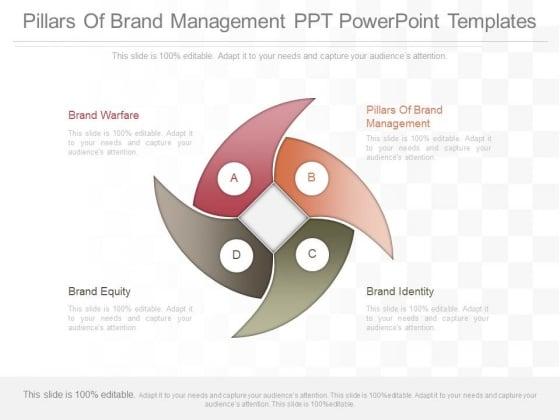 Pillars Of Brand Management Ppt Powerpoint Templates