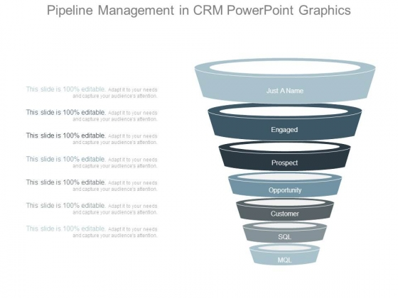 Pipeline Management In Crm Powerpoint Graphics