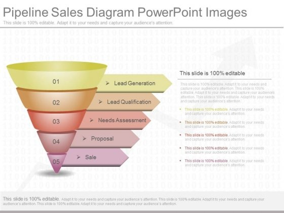 Pipeline Sales Diagram Powerpoint Images
