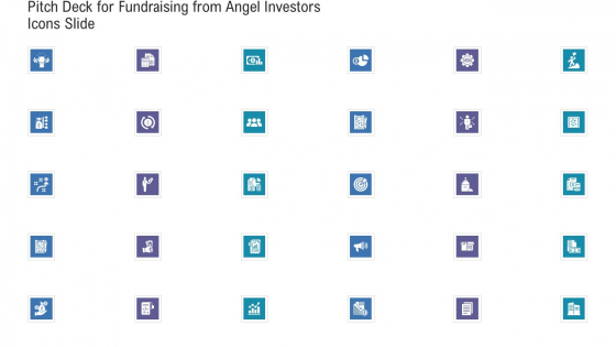 Pitch Deck For Fundraising From Angel Investors Icons Slide Ppt File Slide Download PDF