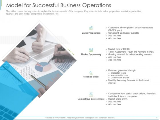 Pitch Deck For Mezzanine Financing Model For Successful Business Operations Ppt Ideas Slide PDF