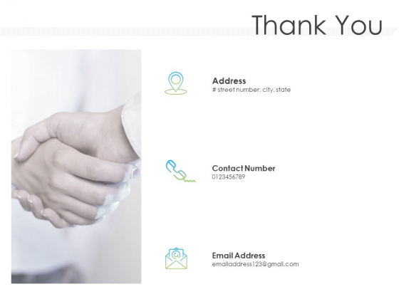 Pitch Deck For Mezzanine Financing Thank You Ppt Pictures Mockup PDF