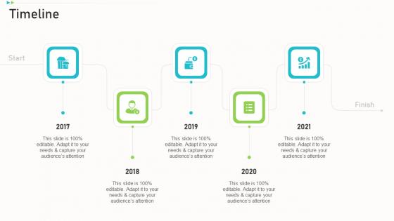 Pitch Deck Ppt Raise Funding Corporate Investors Timeline Ppt File Deck PDF