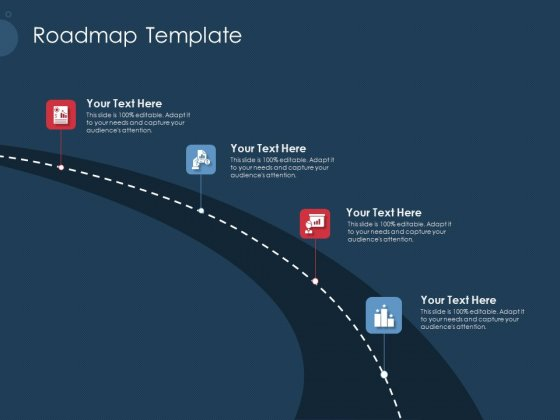 Pitch Deck To Gather Funding From Initial Capital Roadmap Template Ideas PDF