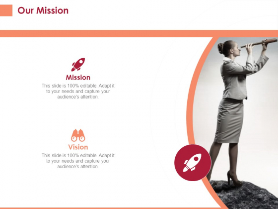 Pitch Deck To Raise Funding From Equity Crowdfunding Our Mission Ppt Portfolio Graphics Example PDF