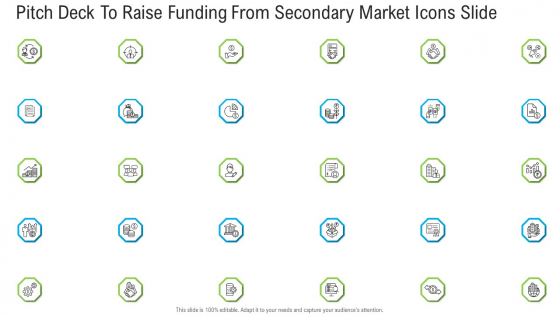 Pitch Deck To Raise Funding From Secondary Market Icons Slide Ppt Inspiration Slides PDF