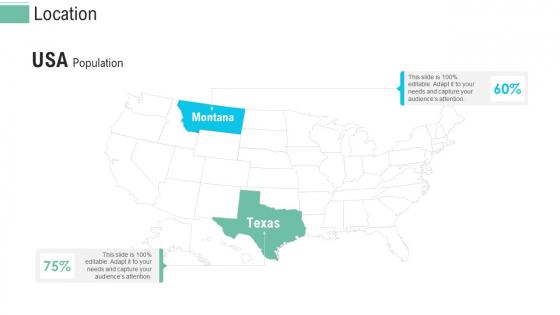Pitch Presentation Raise Money Spot Market Location Ppt Layouts Design Inspiration PDF