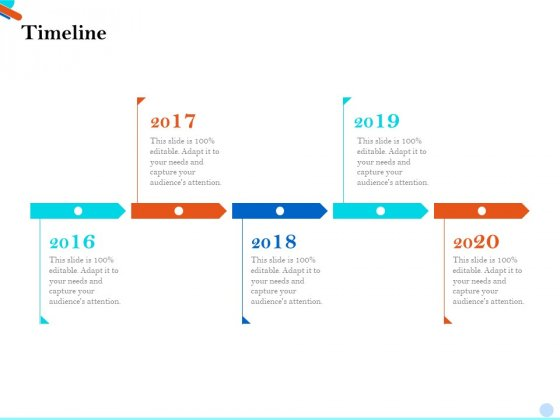 Pitch Presentation Raising Series C Funds Investment Company Timeline Background PDF