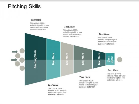 Pitching Skills Ppt PowerPoint Presentation Outline Background Designs Cpb
