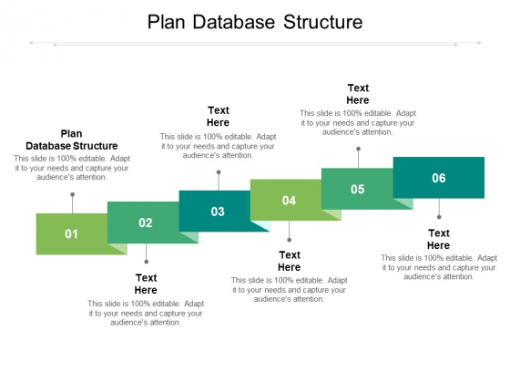 Plan Database Structure Ppt PowerPoint Presentation Model Format Cpb Pdf