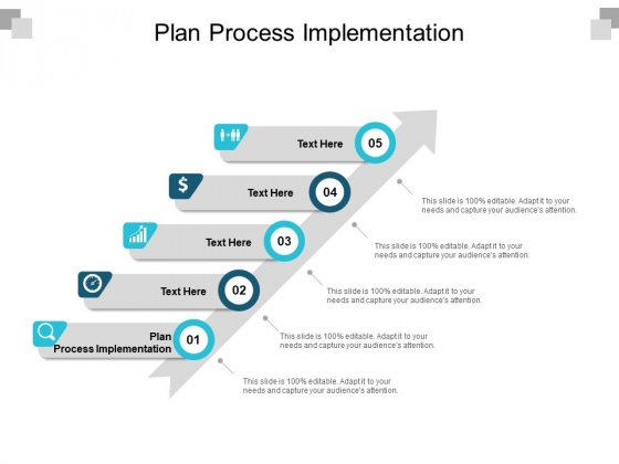 Plan Process Implementation Ppt PowerPoint Presentation Styles Summary Cpb