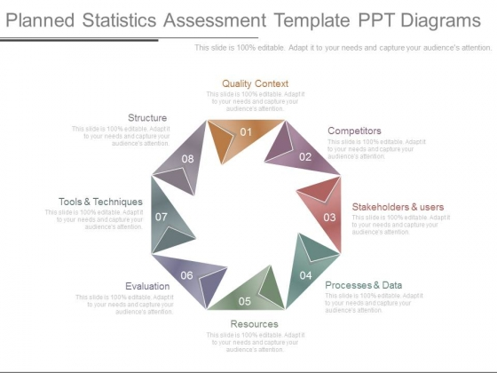Planned Statistics Assessment Template Ppt Diagrams