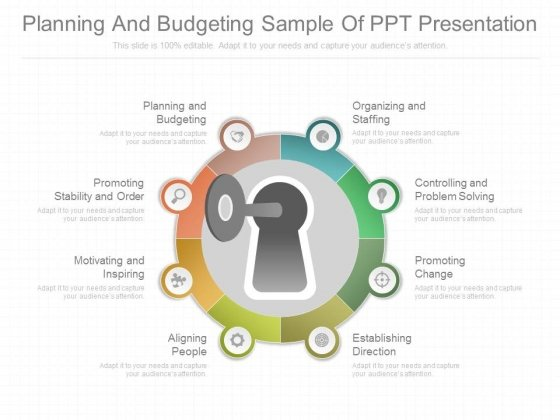 Planning And Budgeting Sample Of Ppt Presentation