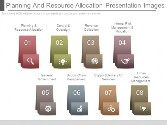 Planning And Resource Allocation Presentation Images