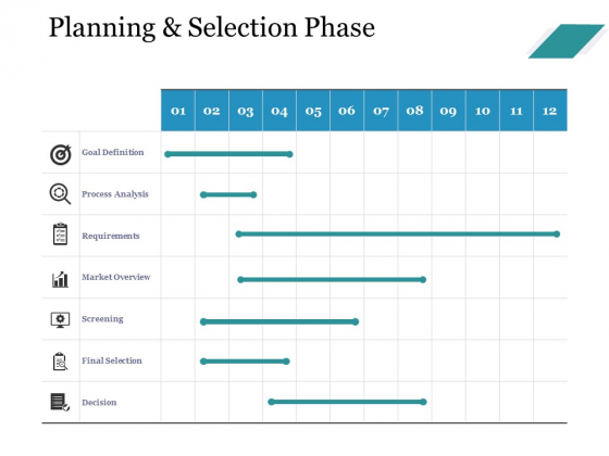 Planning And Selection Phase Ppt PowerPoint Presentation Ideas Infographic Template