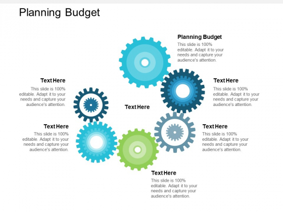 Planning Budget Ppt PowerPoint Presentation Pictures Microsoft Cpb